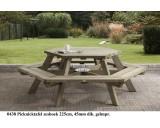 Picknicktafel zeshoek 225 cm
