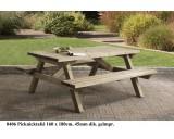 Picknicktafel 180x 160 cm