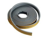 O profiel tochtstrip 2x3m lang,9mm br, 6mm dik grijs