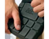 JMP Kniestukken 15 x 20 cm foam zwart