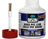 Bison hard PVC lijm 35 100 ml. potje met kwast.