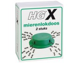 HG X mierenlokdoos 2 stuks