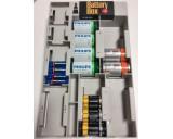 Batterij Opslagbox met Tester