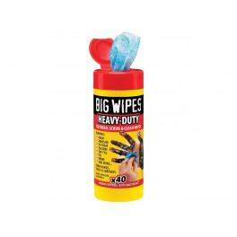 Big Wipes Havy-Duty 80 st. met Aloe Vera Introduktie