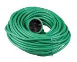 Verlengkabel 20 mtr 2 x 1 mm groen