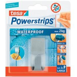 Tesa 59707 Zelfklevende Haak Waterproof Powerstrips