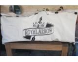 Royal Arrow canvas tuinkussen opbergtas