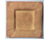 Terracotta Platte Schaal 16x16cm 27.617