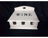 Wijnkist Wit Gelakt 3 Flessen