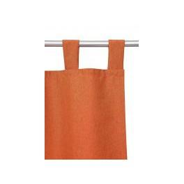 Gordijn (voile) met 5 lussen 110x240cm oranje - BigM Internetshop