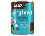Grondverf voor Acrylverf Skaz Wit 750ml