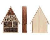 Insectenhotel hout met dak uit schors