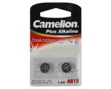 Camelion knoopcelbatterij Bls 2st Alkaline A76 LR44