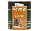 Tencotop 202 Iroko Teak 0,75 ltr Deur & Kozijn Transparant Halfglans