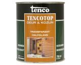 Tencotop 209 Mahonie 0,75 ltr Deur & Kozijn Transparant Halfglans