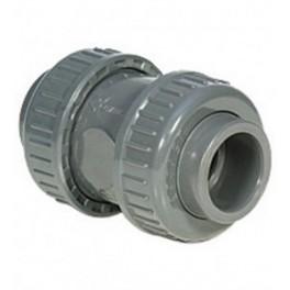 Terugslagklep PVC PN16 maat 50mm