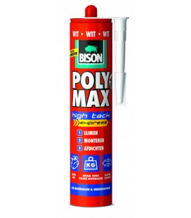 Bison Poly Max® High Tack Express 430 g wit